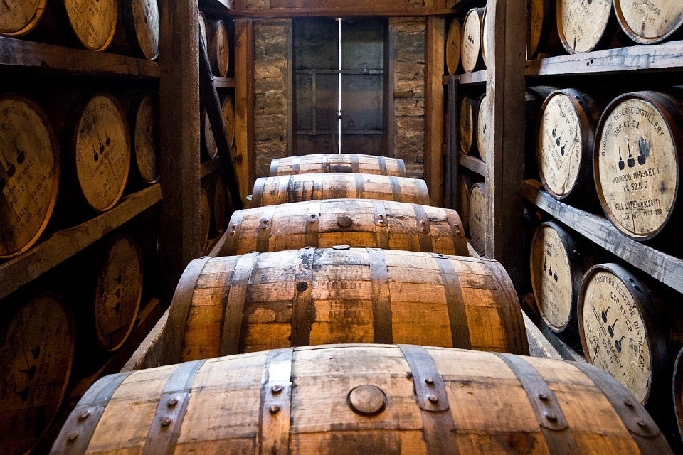What is the creation process of whiskey?