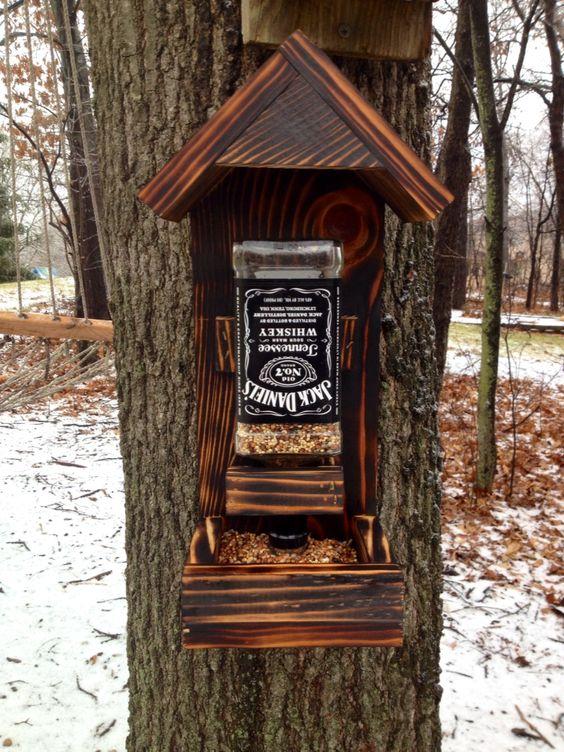 Jack Daniel's Bird Feeder