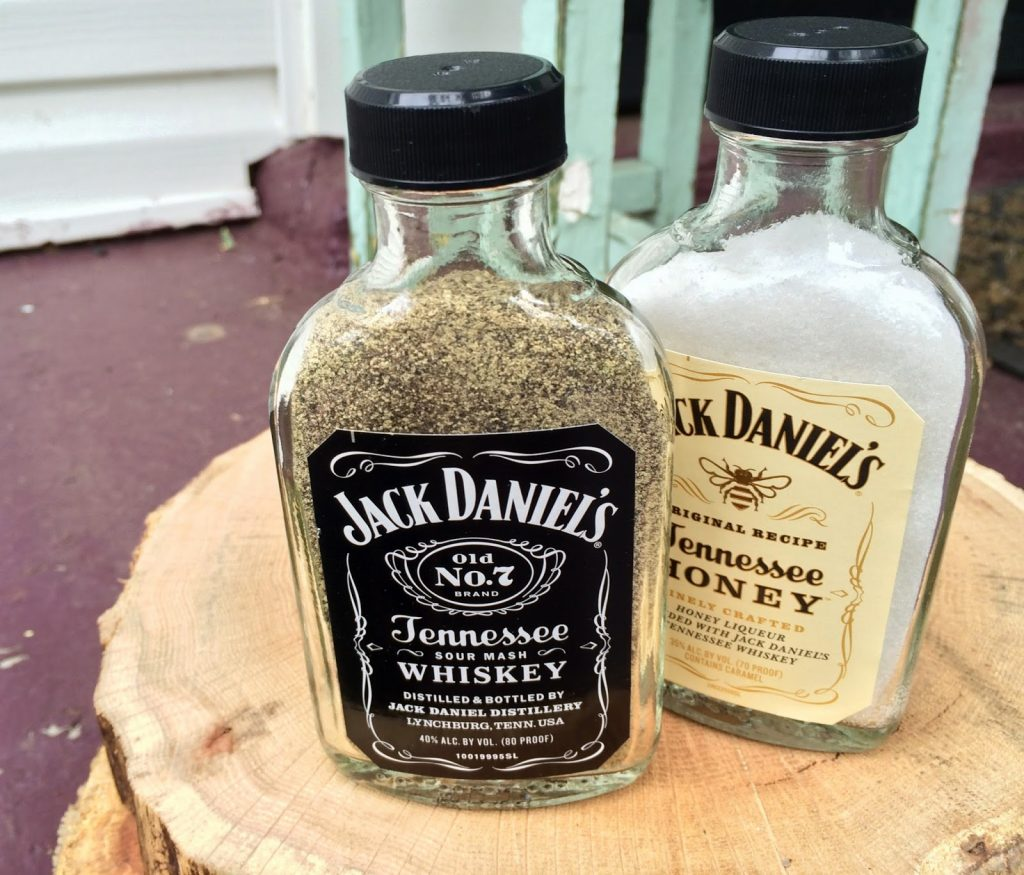 Jack Daniel's Salt and Pepper Shaker