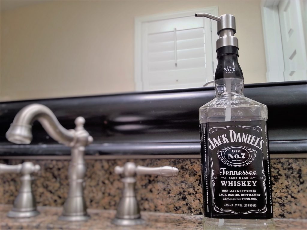 how to recycle jack daniels bottles | alcoline blog