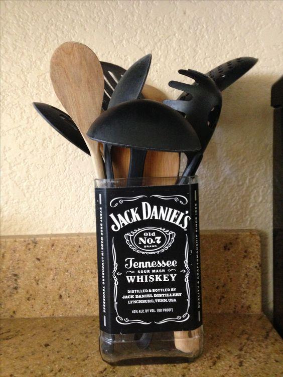 Jack Daniel's Utensils Container