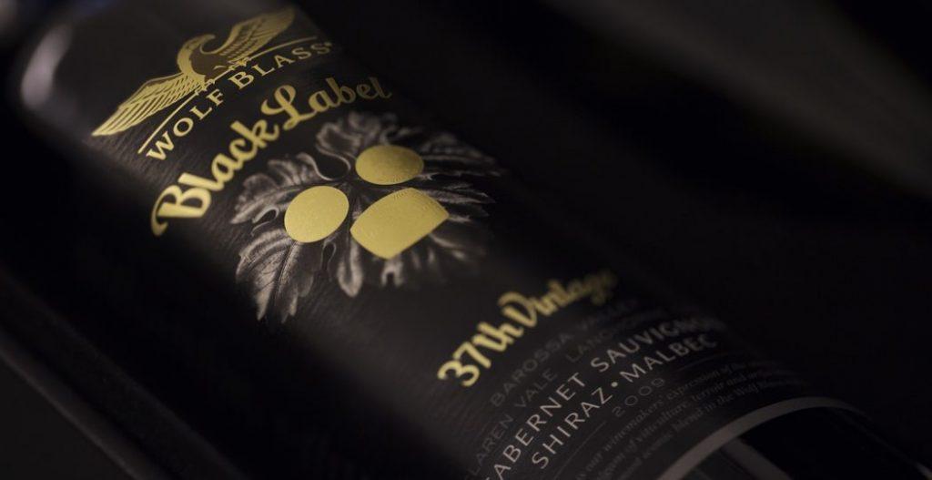Wolf Blass Black Label wine