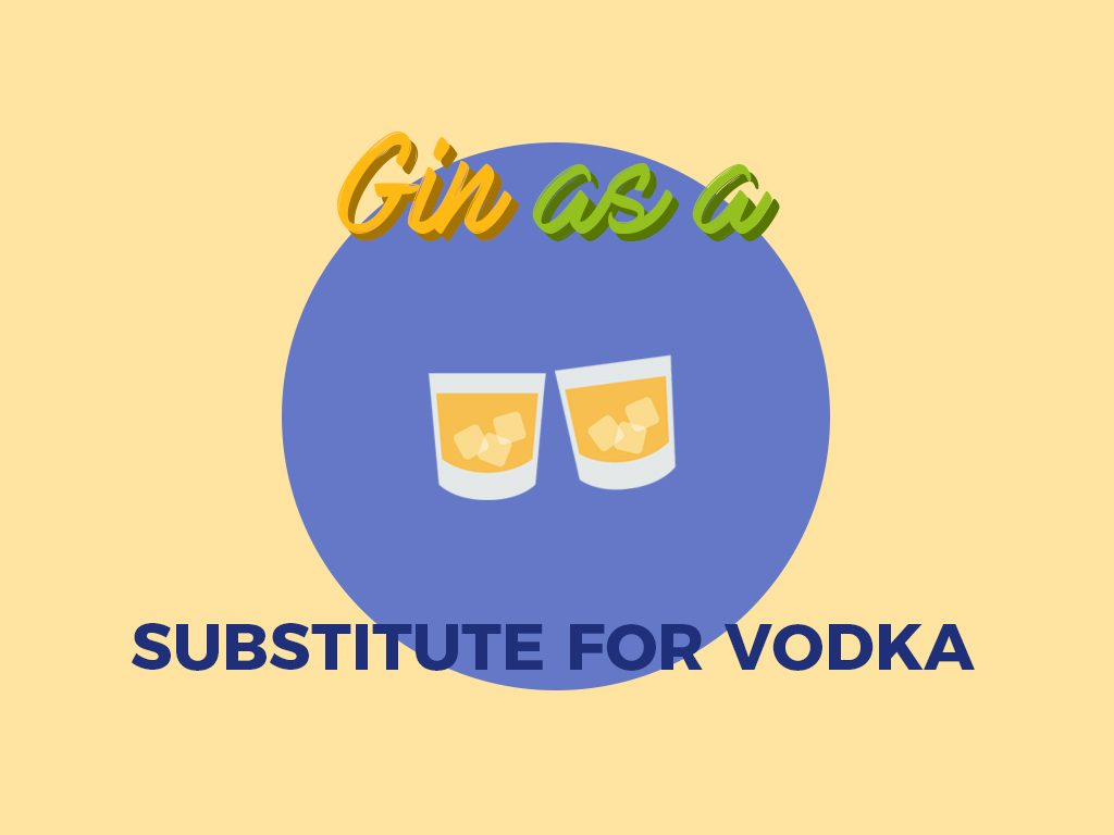 Gin as a Substitute for Vodka