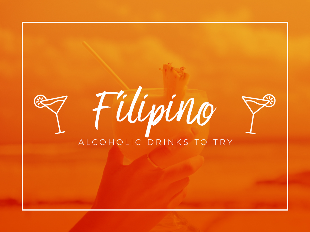 Filipino Alcoholic Drinks to Try