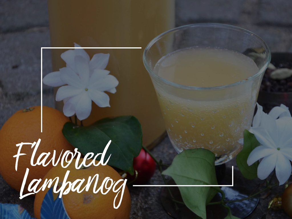 Flavored Lambanog