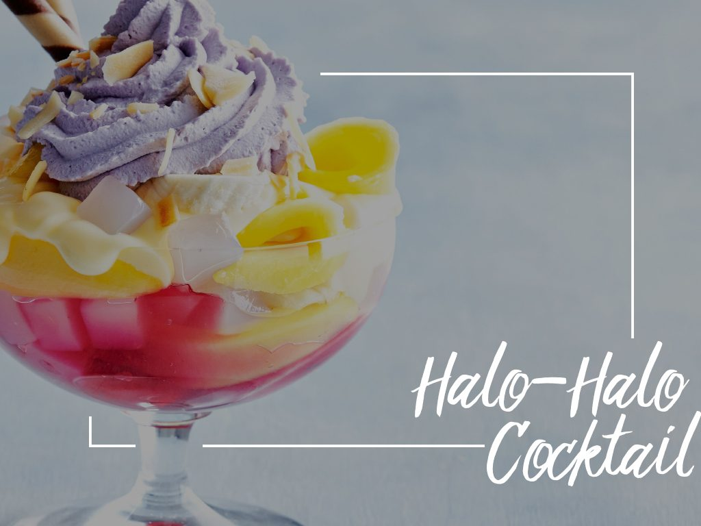 Halo-Halo Cocktail