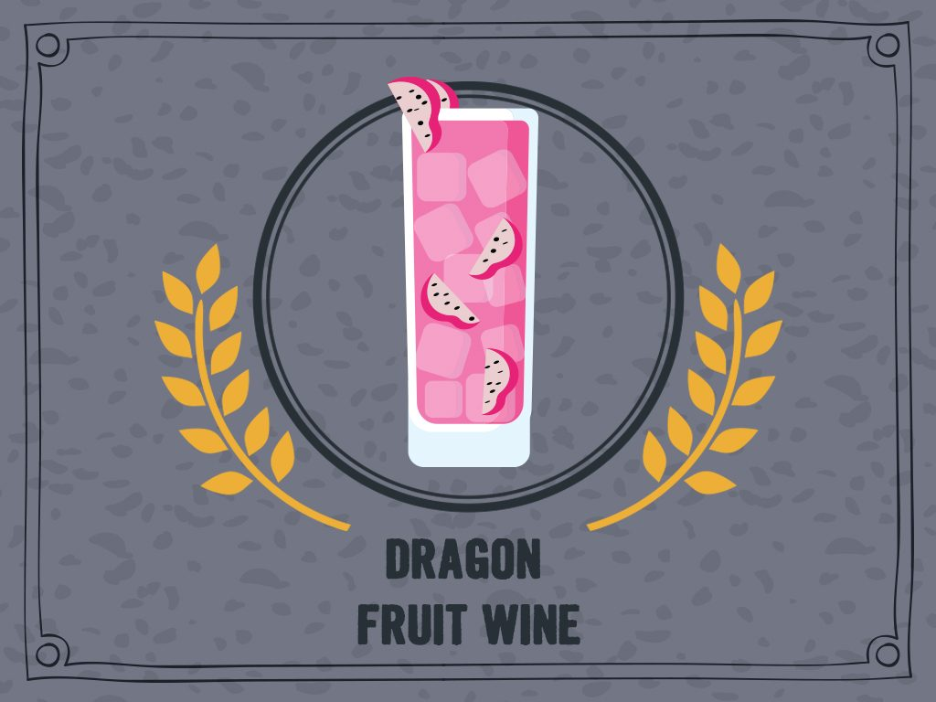 Dragon Fruit Wine