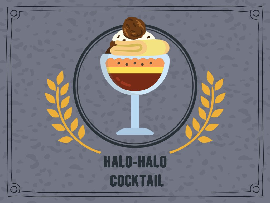 Halo Halo Cocktail