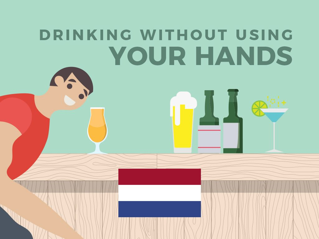 Drinking WITHOUT Using Your Hands (Netherlands)