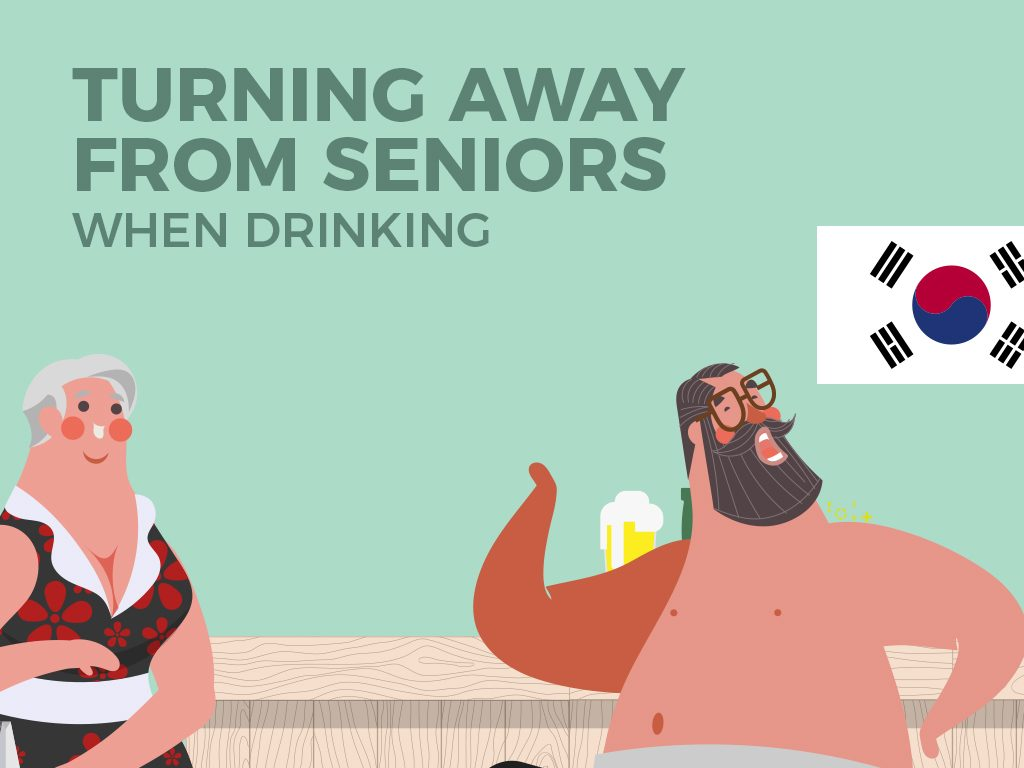 Turning Away from Seniors When Drinking (South Korea)