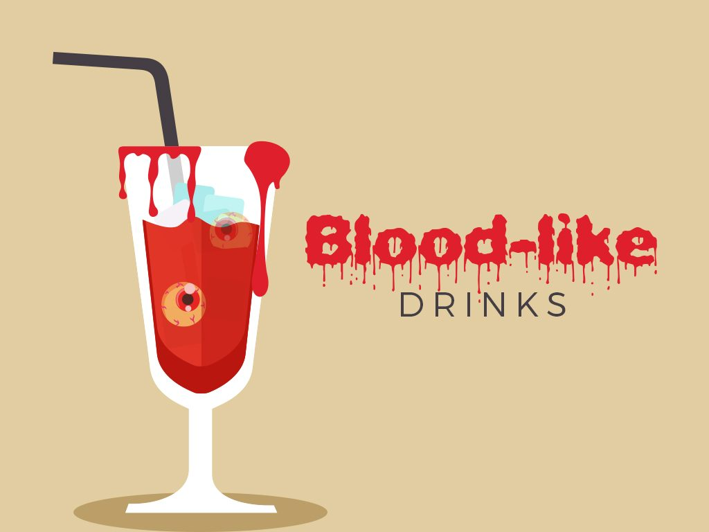 Blood-like Drinks