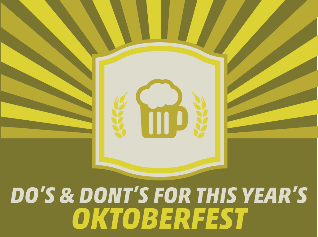 Dos and Donts for This Years Oktoberfest