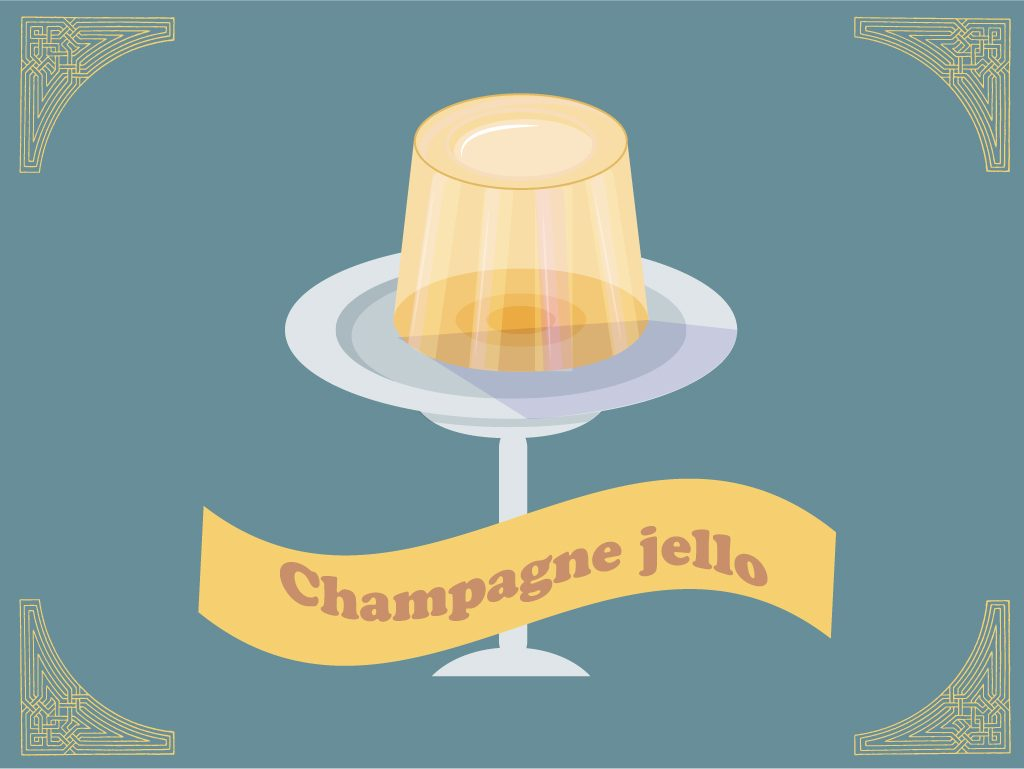 Champagne Jell-O
