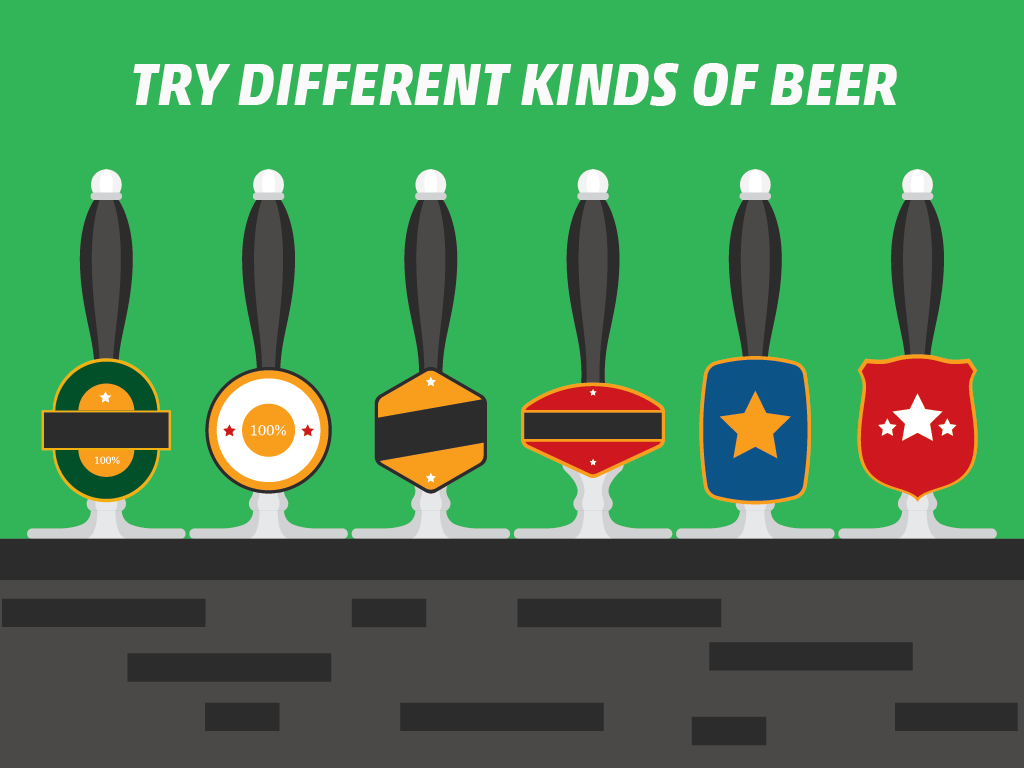 Do: Try Different Kinds of Beer