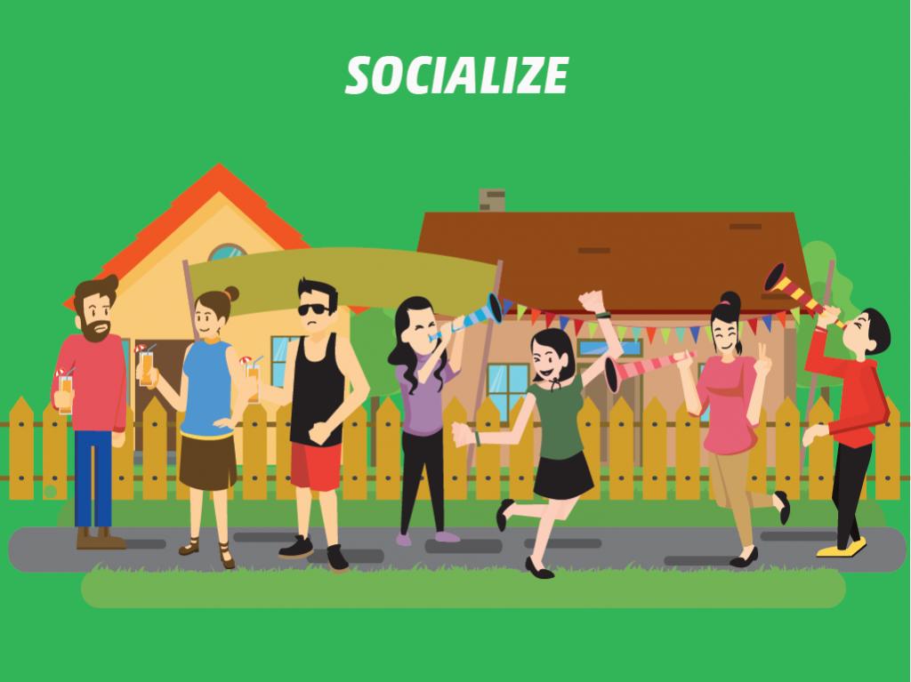 Do: Socialize