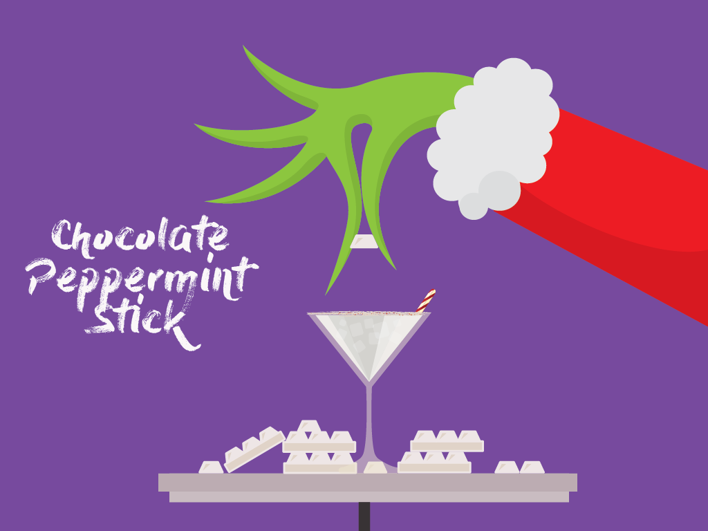 Chocolate Peppermint Stick