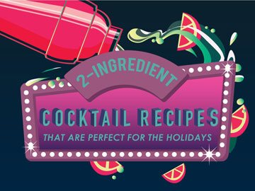 2-Ingredient Cocktail Recipes That Are Perfect for the Holidays