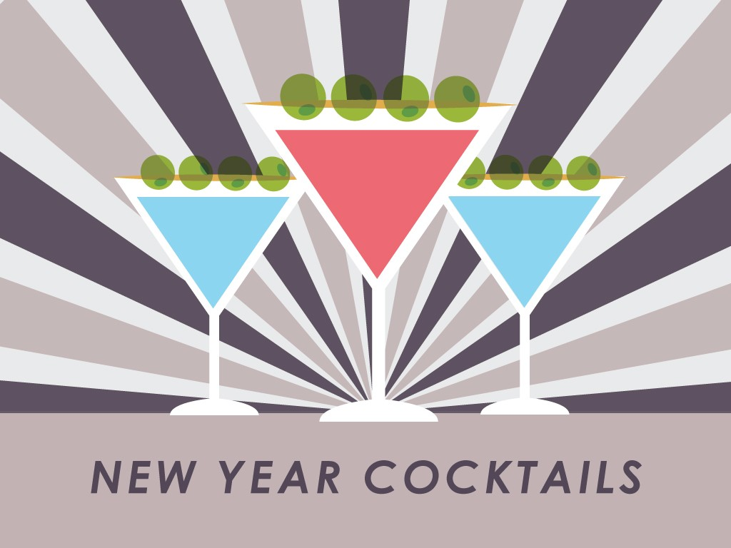 New Year Cocktail