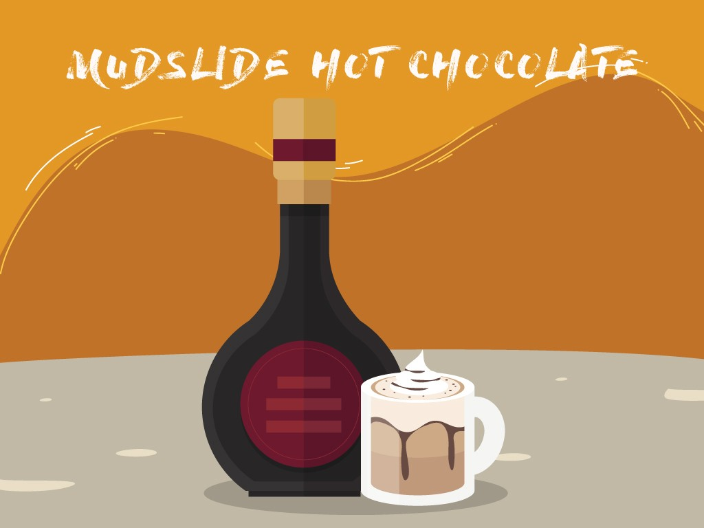 Mudslide Hot Chocolate