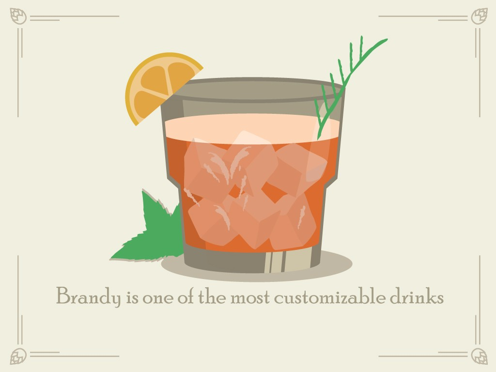 Brandy is One of the Most Customizable Drinks in the Menu