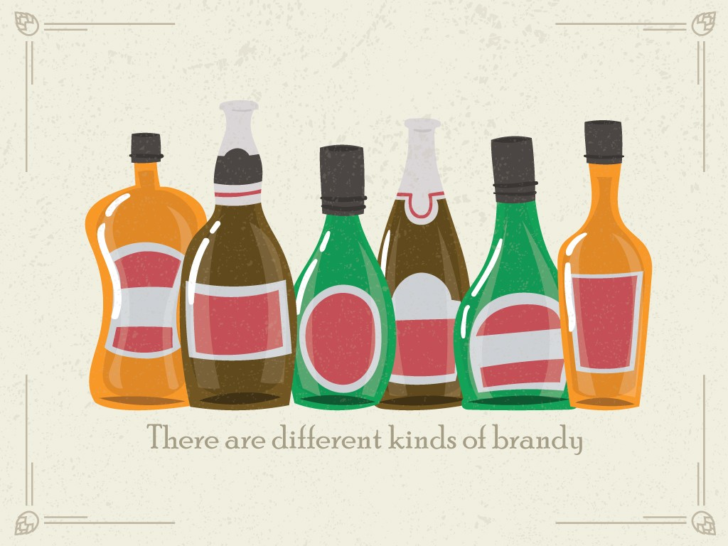 There are Different Kinds of Brandy