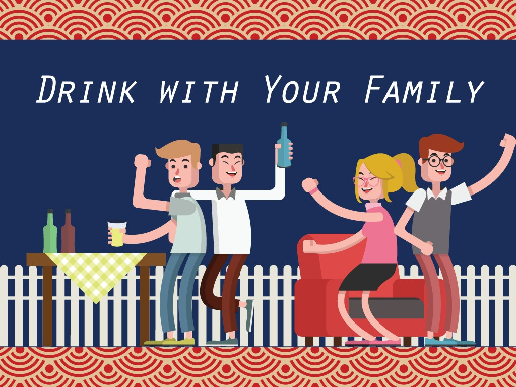 Drink with Family