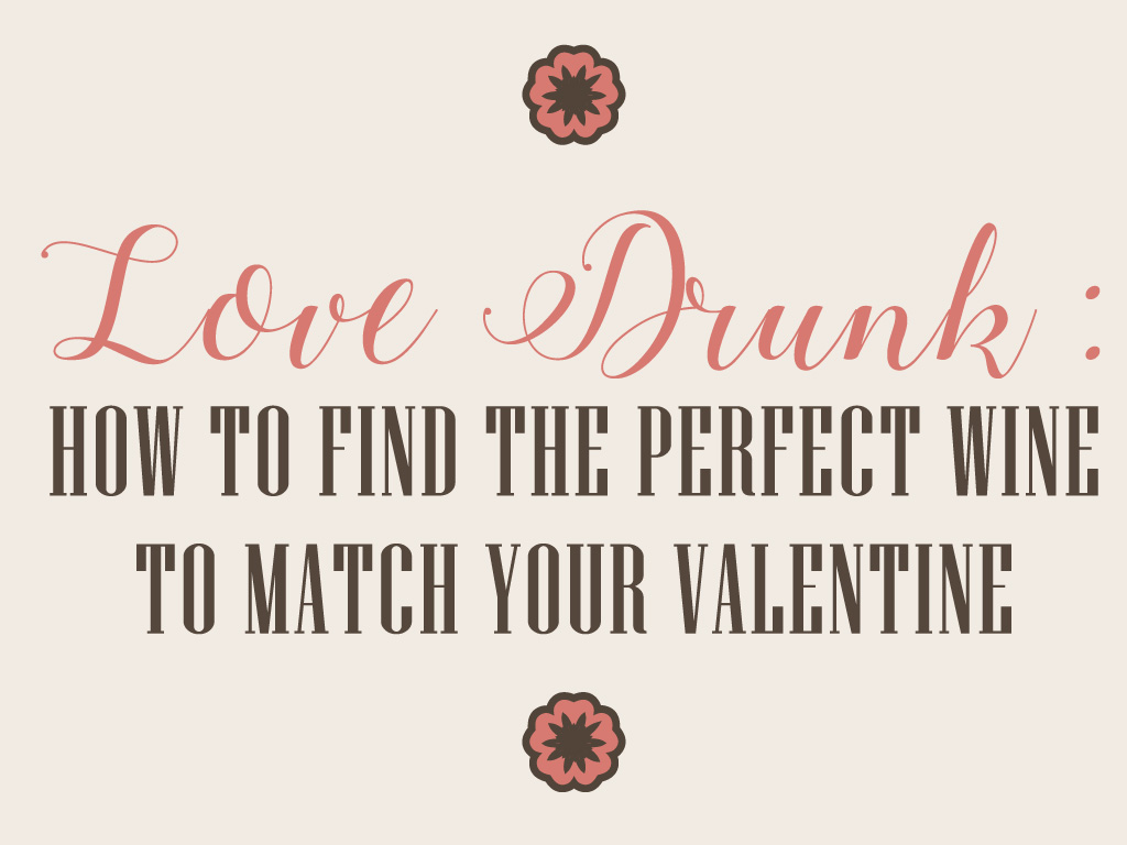 Love Drunk: How to Find the Perfect Wine to Match Your Valentine cover