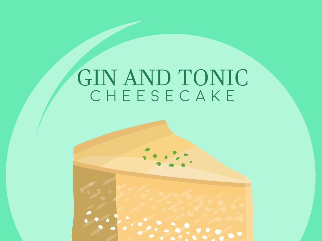 Gin and Tonic Cheesecake