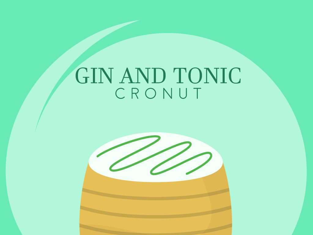 Gin and Tonic Cronuts