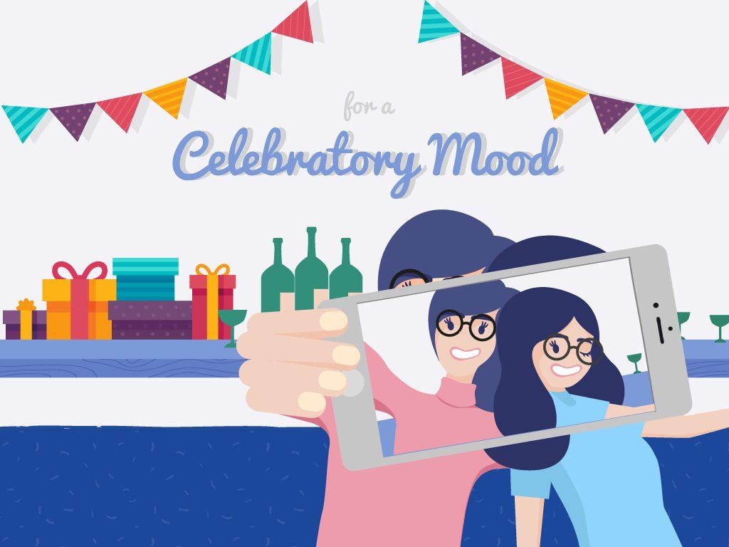 For a Celebratory Mood