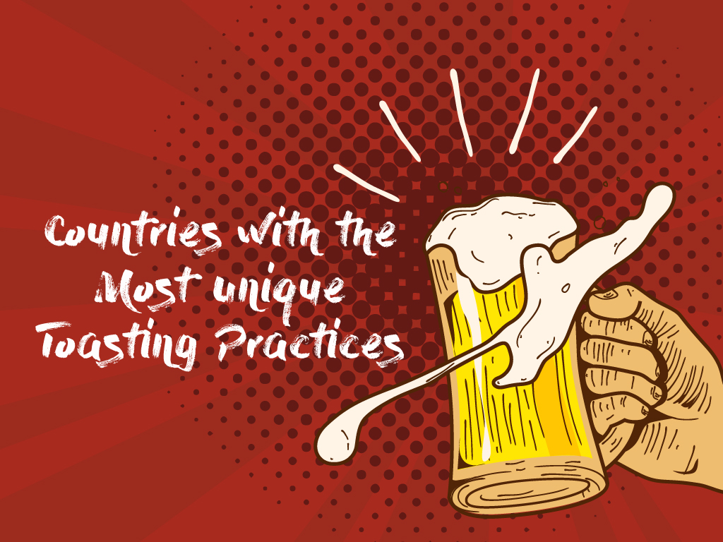 Countries with the Most Unique Toasting Practices