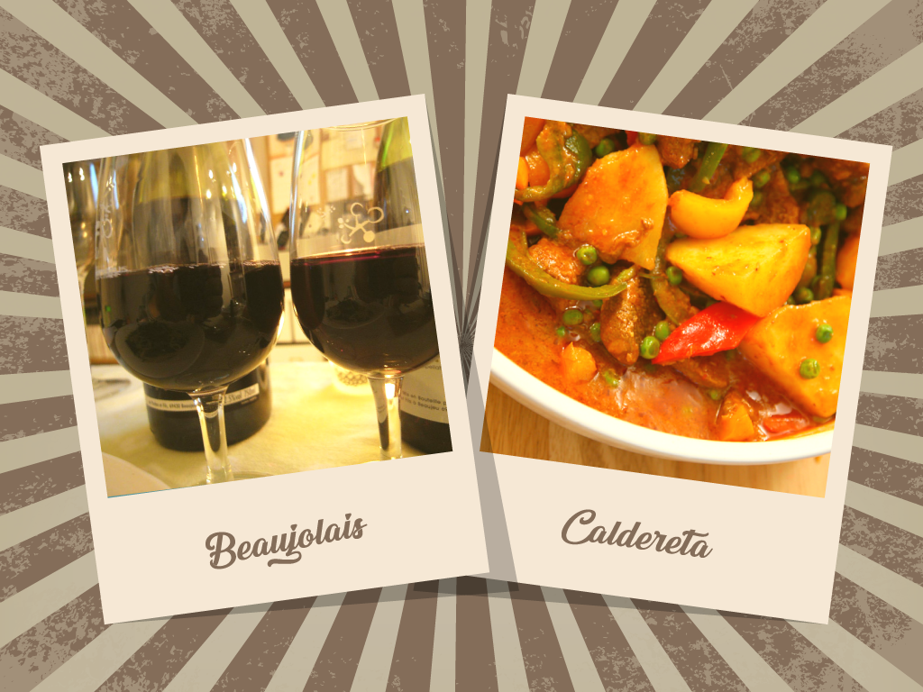 Caldereta and Beaujolais