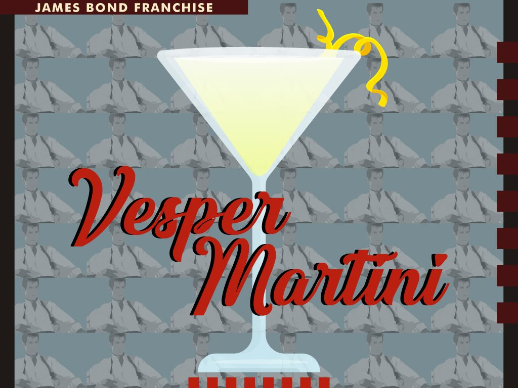 Vesper Martini - James Bond Franchise