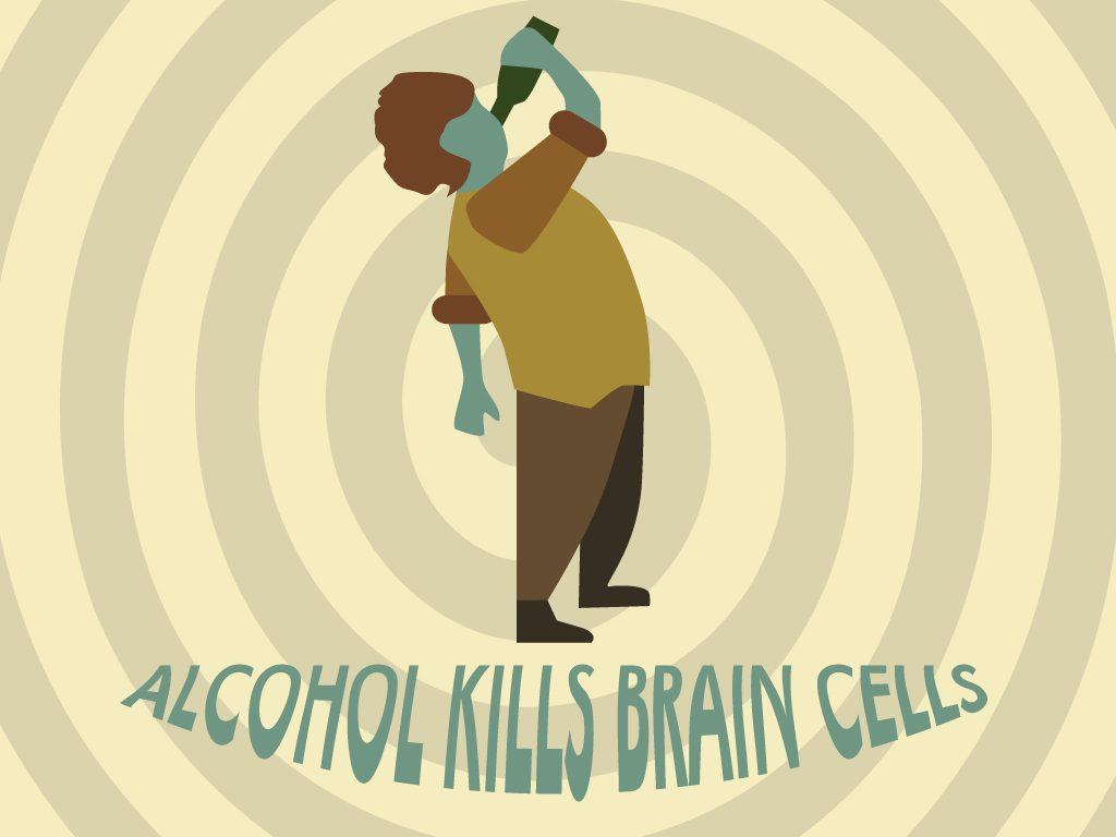 Alcohol-kills-brain-cells