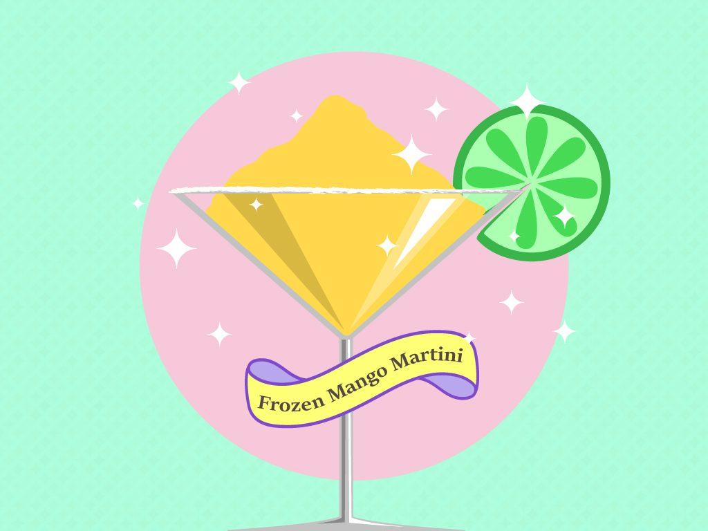 Frozen Mango Martini