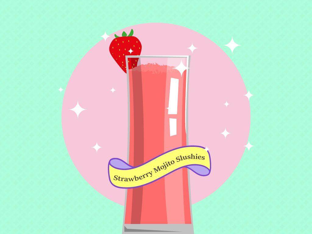 Strawberry Mojito Slushies Recipe