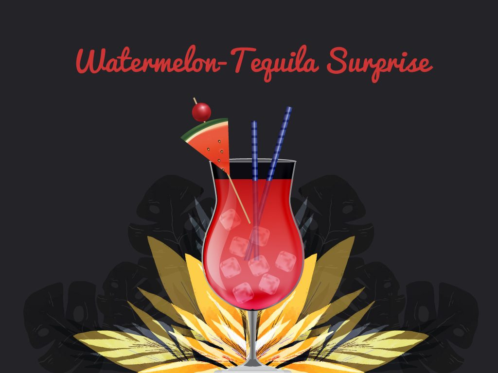 Watermelon-Tequila Surprise