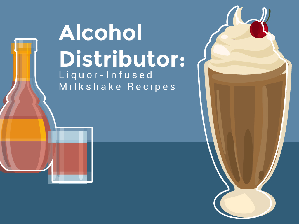Alcohol Distributor Liquor-Infused Milkshake Recipes