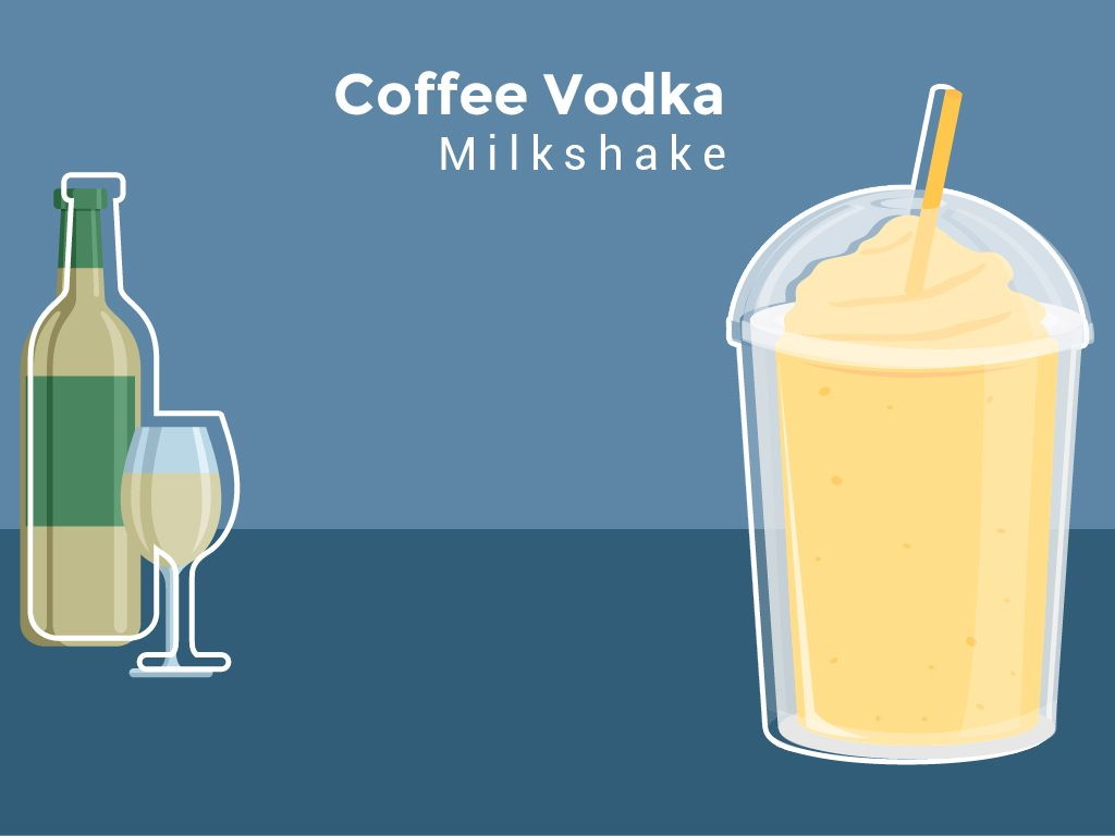 Coffee Vodka Milkshake
