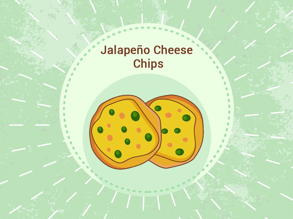 Jalapeño cheese chips