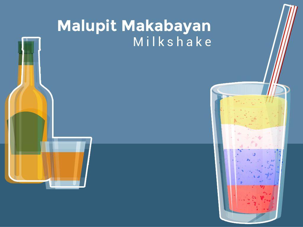Malupit Makabayan milkshake
