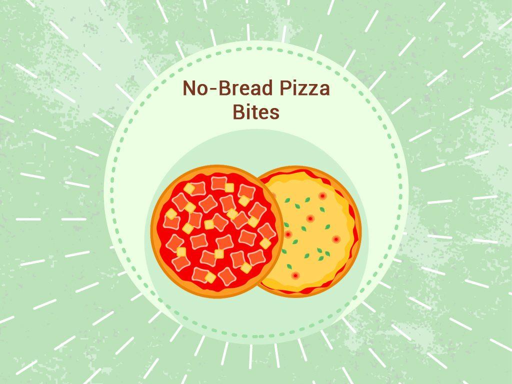 No-bread pizza bites