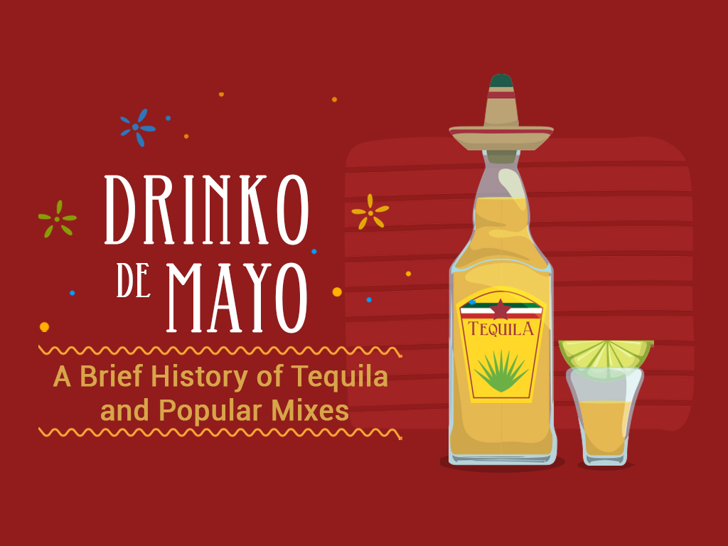 Drinko De Mayo A Brief History Of Tequila And Popular Mixes