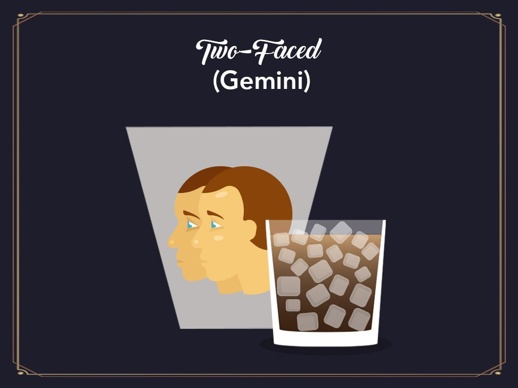 Two Faced (gemini)