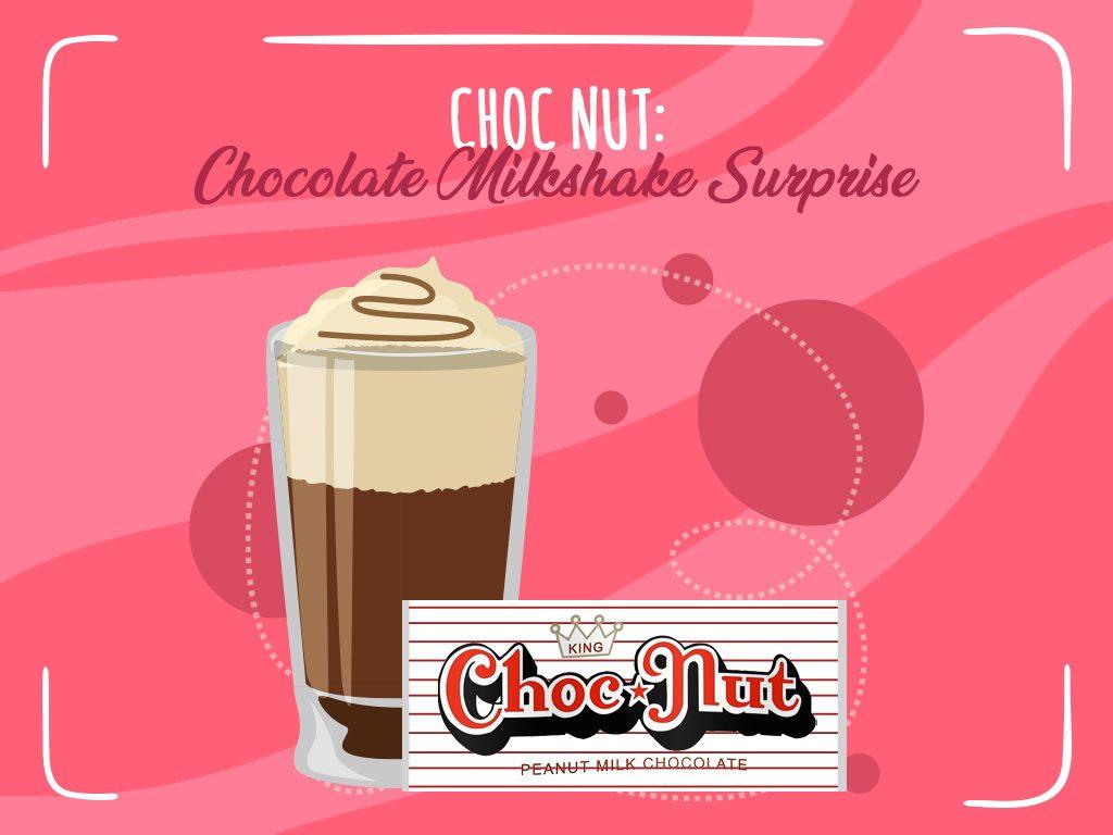 Choc Nut Chocolate Milkshake Surprise