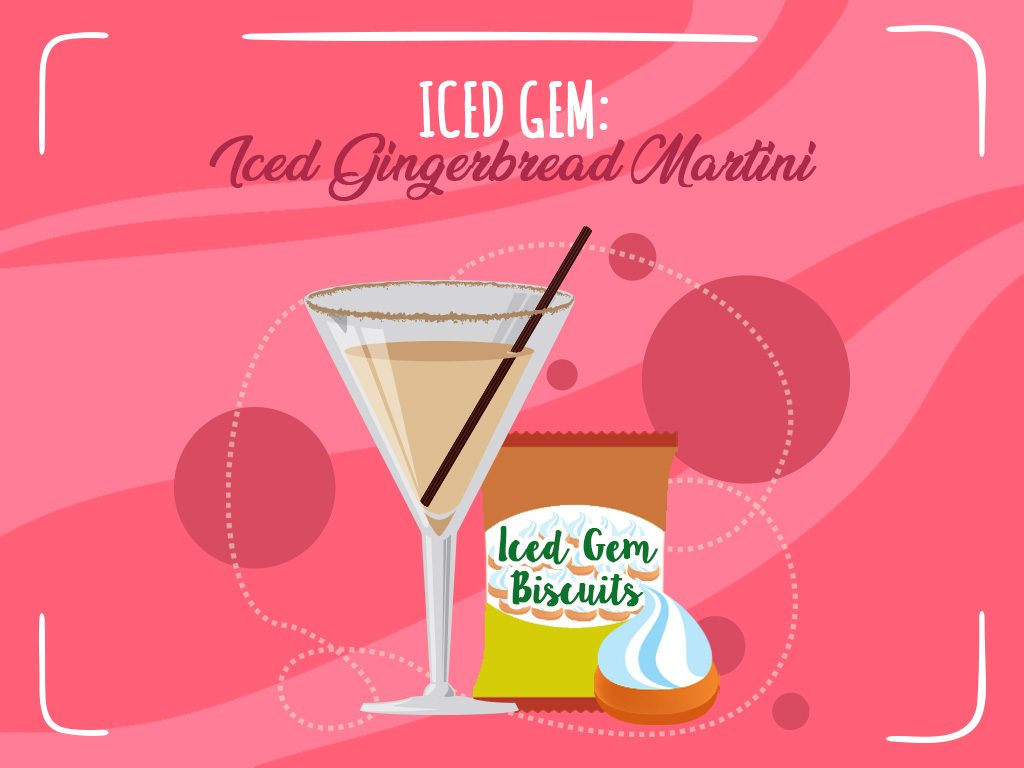 Iced Gem Iced Gingerbread Martini