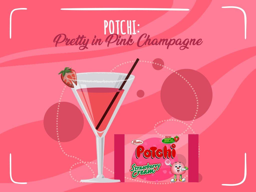Potchi Pretty In Pink Champagne