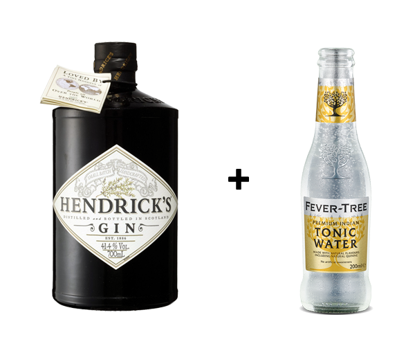 Hendrick + 1 Btl Fever Tree Tonic Water