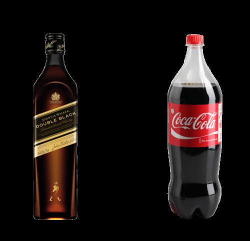 Jw Double Black + Coke