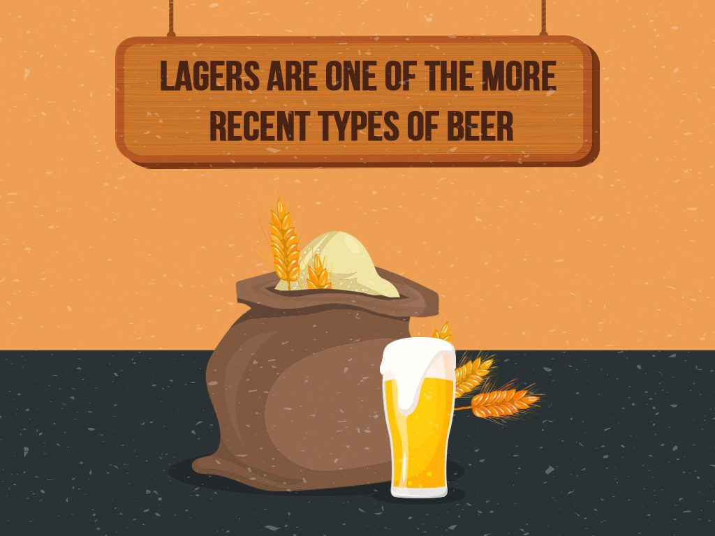 Lagers Are One Of The More Recent Types Of Beer